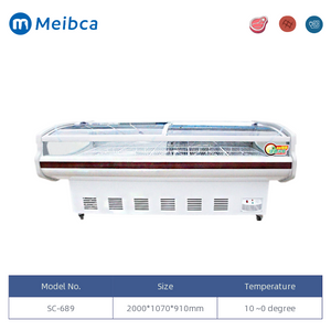 2.0m Deli Meat Display Chiller 냉장고 쇼케이스