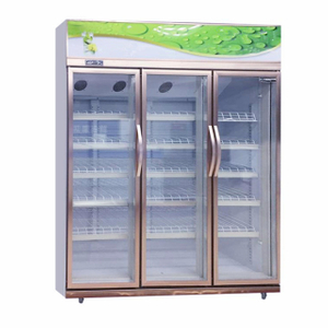 Convenience Store Pepsi Beverage Display Upright Showcase