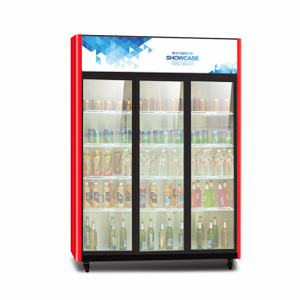 Drink Beverage Display Fridge With Front Glass Door